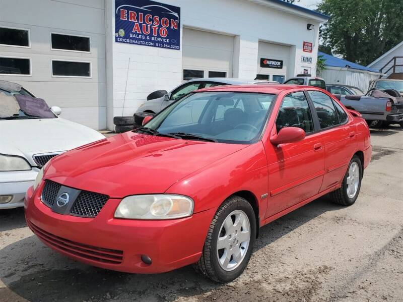 2005 Nissan Sentra for sale at Ericson Auto in Ankeny IA