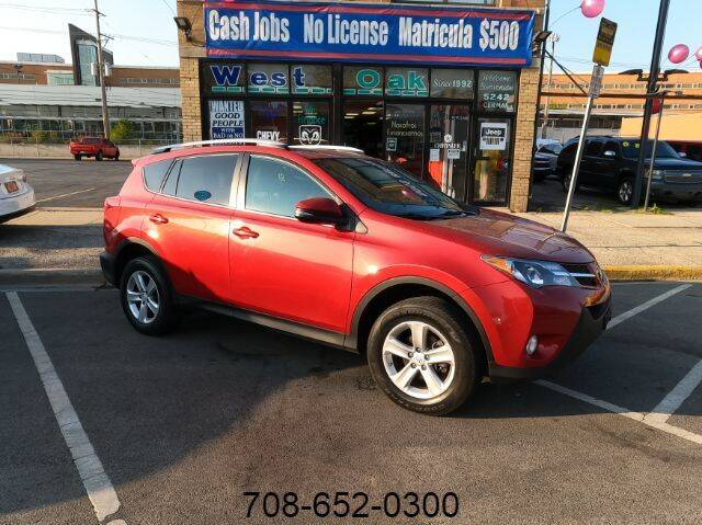2013 Toyota RAV4 for sale at West Oak in Chicago IL
