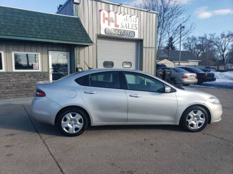 2013 Dodge Dart for sale at H & L AUTO SALES LLC in Wyoming MI