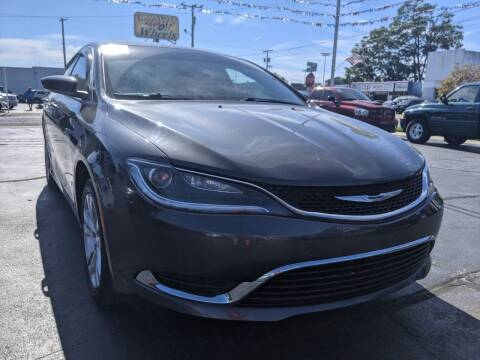 2015 Chrysler 200 for sale at GREAT DEALS ON WHEELS in Michigan City IN