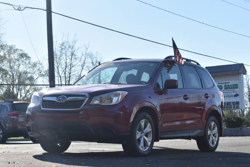 2015 Subaru Forester for sale at GREENPORT AUTO in Hudson NY