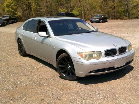 2003 BMW 7 Series for sale at Let's Go Auto Of Columbia in West Columbia SC