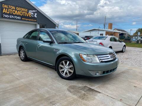 2008 Ford Taurus for sale at Dalton George Automotive in Marietta OH