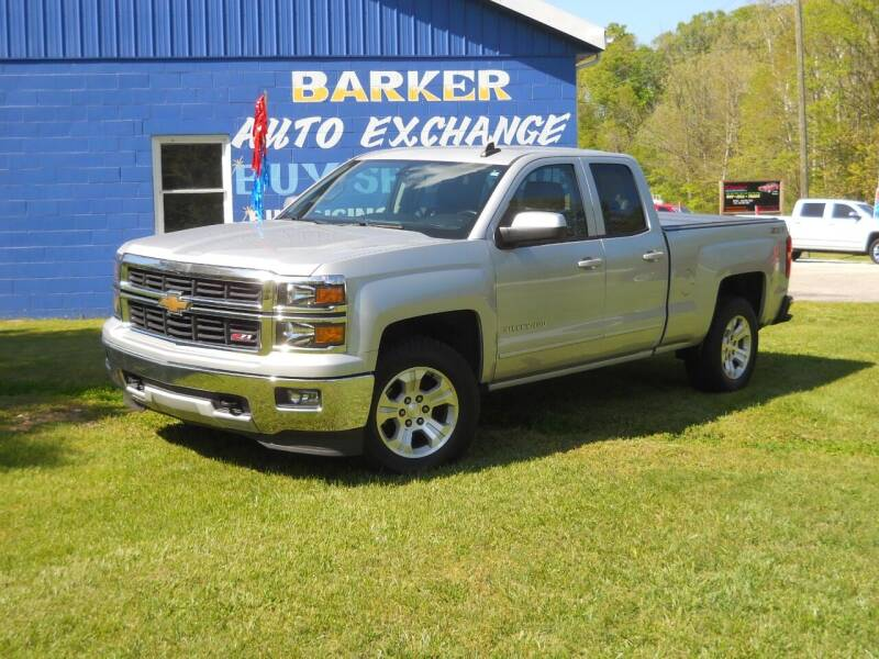 2015 Chevrolet Silverado 1500 for sale at BARKER AUTO EXCHANGE in Spencer IN