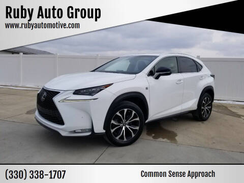 2016 Lexus NX 200t for sale at Ruby Auto Group in Hudson OH