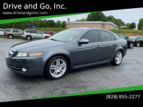 2008 Acura TL for sale at Drive and Go, Inc. in Hickory NC