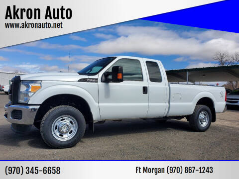 2012 Ford F-250 Super Duty for sale at Akron Auto - Fort Morgan in Fort Morgan CO