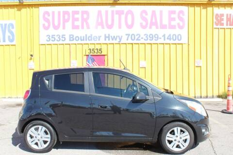 2014 Chevrolet Spark for sale at Super Auto Sales in Las Vegas NV