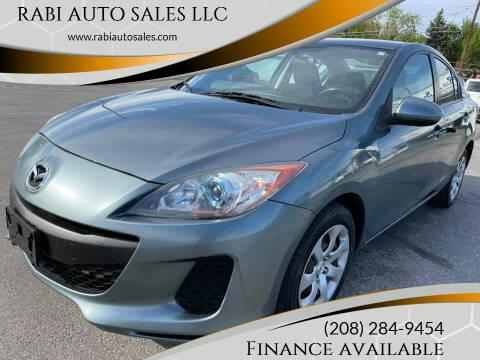 2013 Mazda MAZDA3 for sale at RABI AUTO SALES LLC in Garden City ID