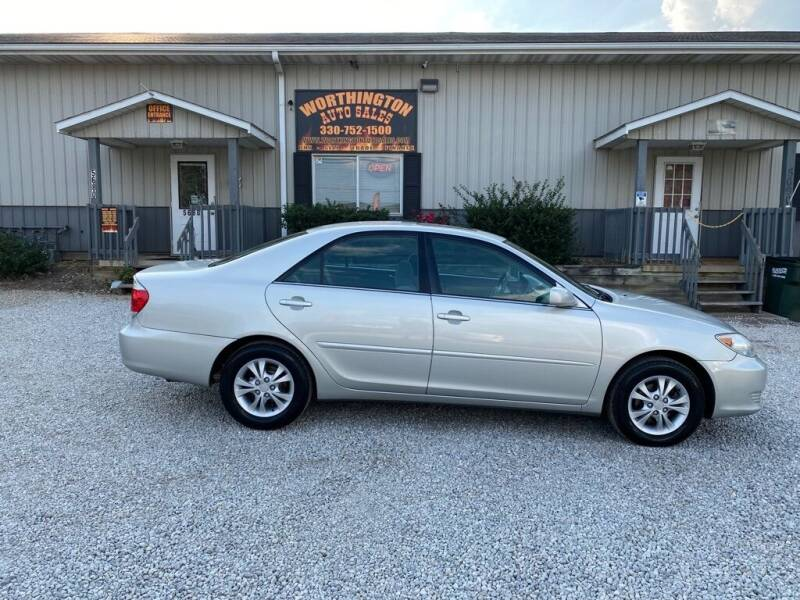 2006 Toyota Camry for sale at Worthington Auto Sales in Wooster OH