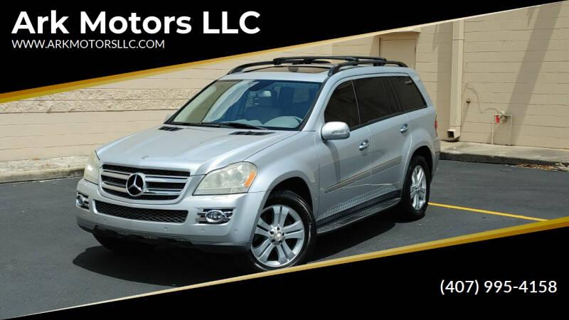 2007 Mercedes-Benz GL-Class for sale at Ark Motors LLC in Winter Springs FL