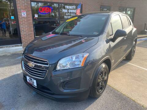2016 Chevrolet Trax for sale at Bankruptcy Car Financing in Norfolk VA