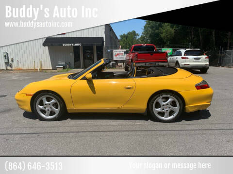 2000 Porsche 911 for sale at Buddy's Auto Inc in Pendleton SC