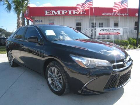 2017 Toyota Camry for sale at Empire Automotive Group Inc. in Orlando FL