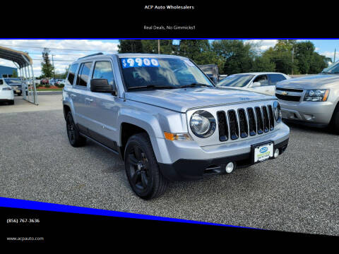 2014 Jeep Patriot for sale at ACP Auto Wholesalers in Berlin NJ