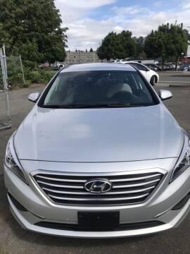 2017 Hyundai Sonata for sale at ALHAMADANI AUTO SALES in Spanaway WA