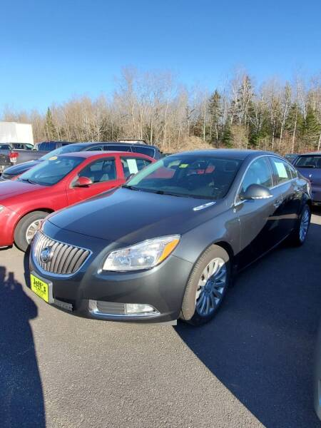 2012 Buick Regal for sale at Jeff's Sales & Service in Presque Isle ME