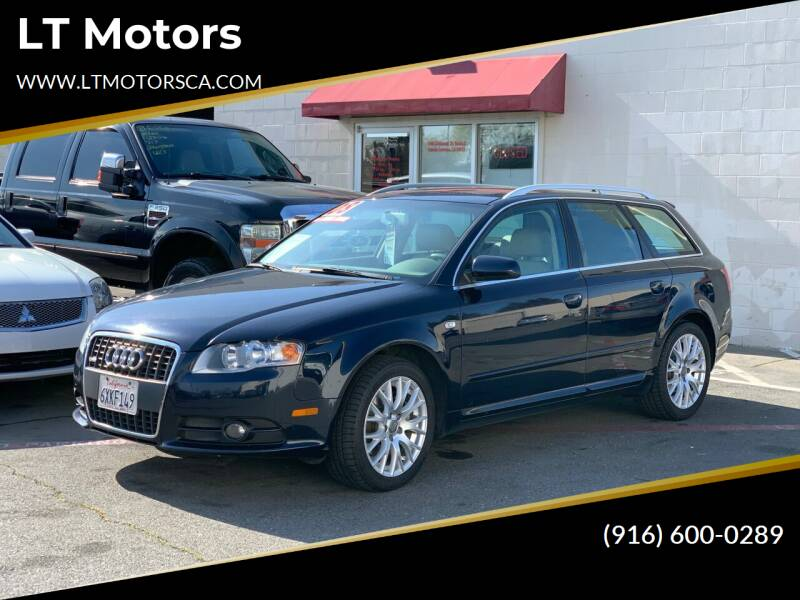2008 Audi A4 for sale at LT Motors in Rancho Cordova CA