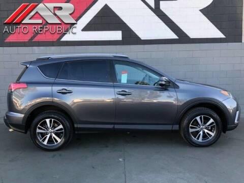 2017 Toyota RAV4 for sale at Auto Republic Fullerton in Fullerton CA