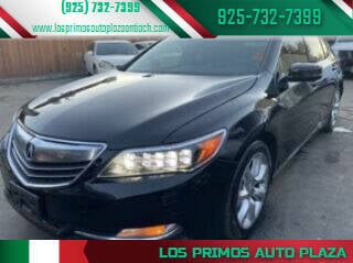 2014 Acura RLX for sale at Los Primos Auto Plaza in Antioch CA