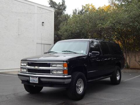 1998 Chevrolet Suburban for sale at Gilroy Motorsports in Gilroy CA