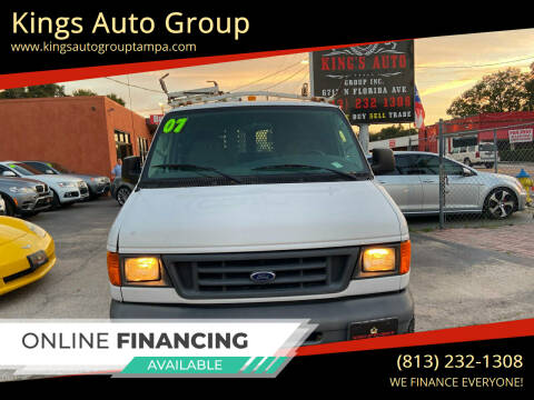 2007 Ford E-Series Cargo for sale at Kings Auto Group in Tampa FL