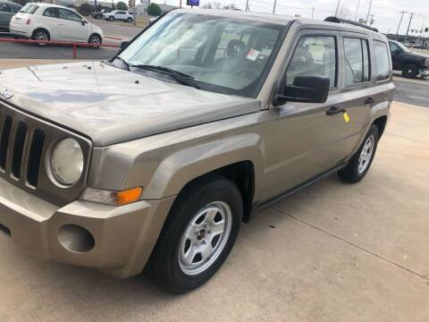 2007 Jeep Patriot for sale at Moore Imports Auto in Moore OK