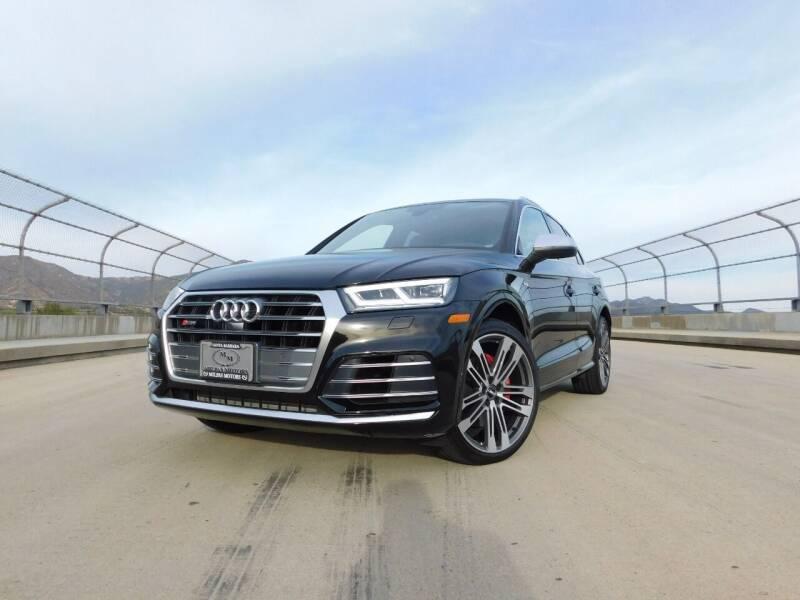 2018 Audi SQ5 for sale at Milpas Motors in Santa Barbara CA