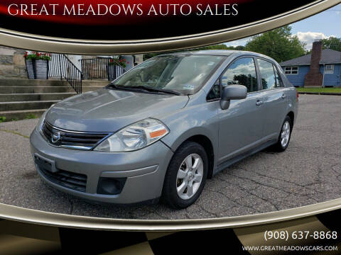 2010 Nissan Versa for sale at GREAT MEADOWS AUTO SALES in Great Meadows NJ