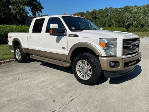 2012 Ford F-250 Super Duty for sale at United Luxury Motors in Stone Mountain GA
