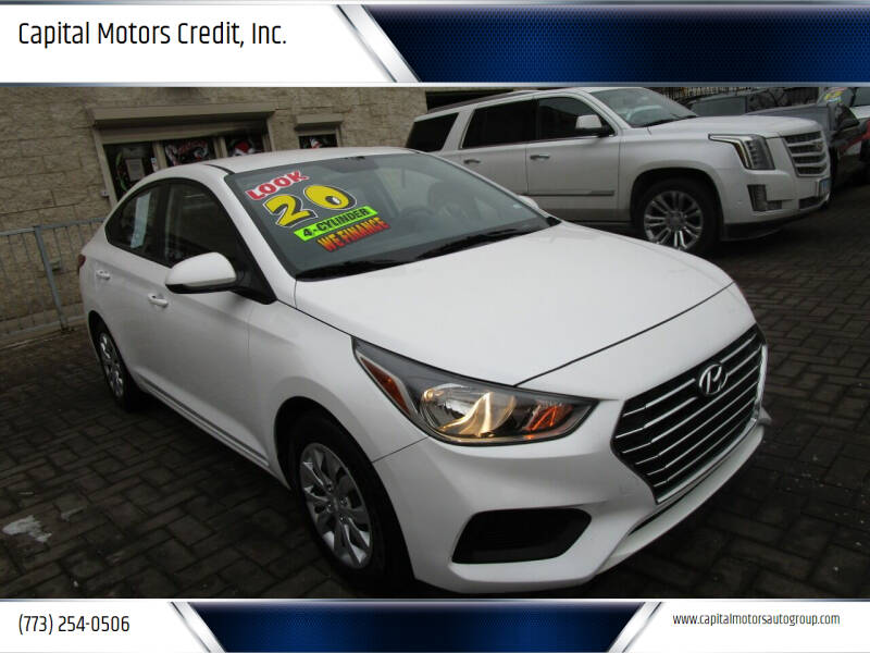 2020 Hyundai Accent for sale at Capital Motors Credit, Inc. in Chicago IL