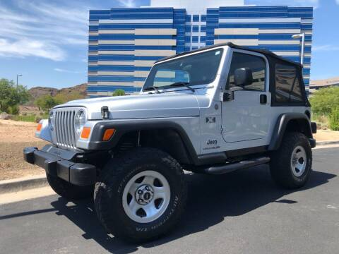 2004 Jeep Wrangler for sale at Day & Night Truck Sales in Tempe AZ