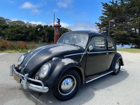 1958 Volkswagen Beetle for sale at Dodi Auto Sales in Monterey CA
