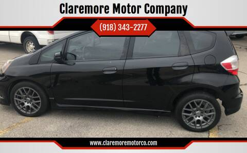 2013 Honda Fit for sale at Claremore Motor Company in Claremore OK