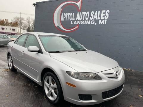 2008 Mazda MAZDA6 for sale at Capitol Auto Sales in Lansing MI