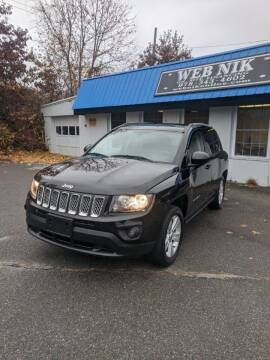 2017 Jeep Compass for sale at WEB NIK Motors in Fitchburg MA