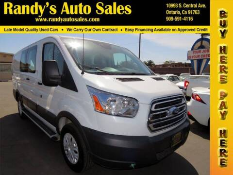 2017 Ford Transit Cargo for sale at Randy's Auto Sales in Ontario CA