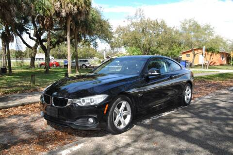 2014 BMW 4 Series for sale at INTERNATIONAL AUTO BROKERS INC in Hollywood FL
