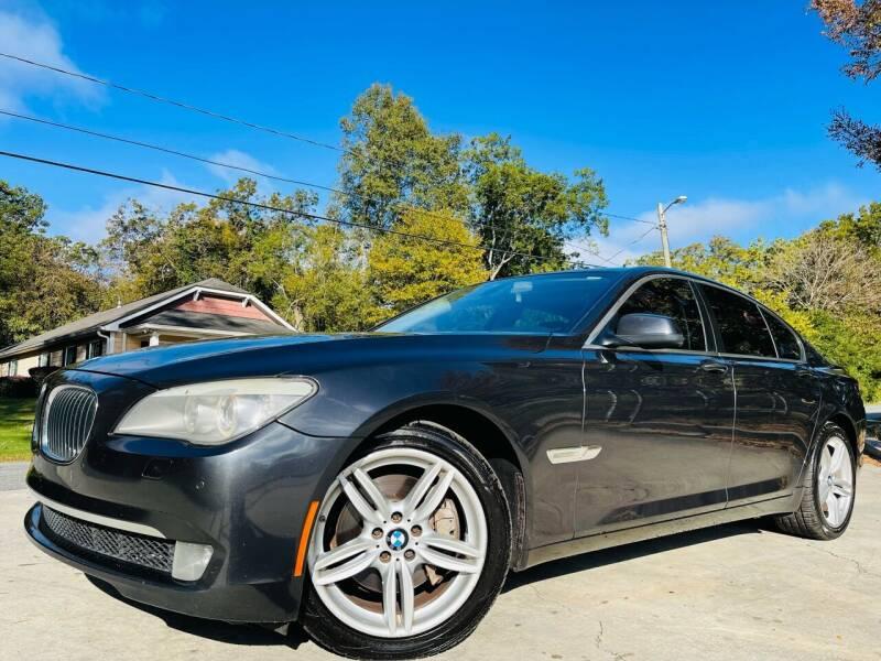 2012 BMW 7 Series for sale at E-Z Auto Finance in Marietta GA