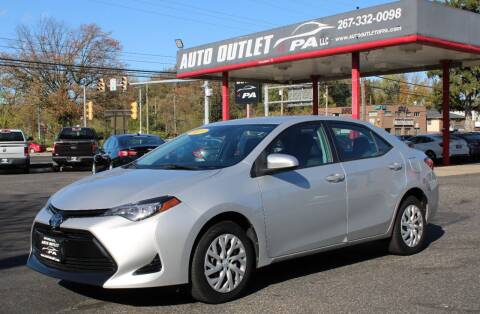 2017 Toyota Corolla for sale at Deals N Wheels 306 in Burlington NJ