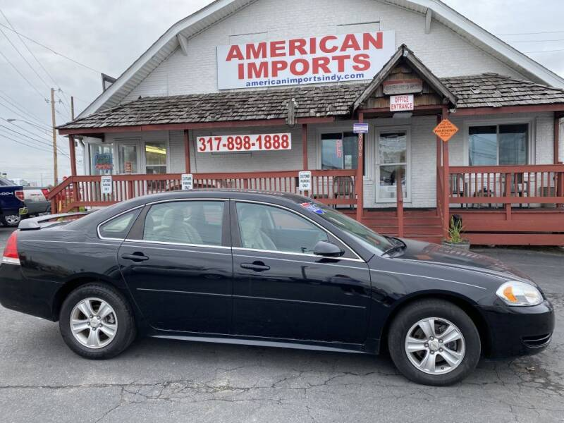 2013 Chevrolet Impala for sale at American Imports INC in Indianapolis IN