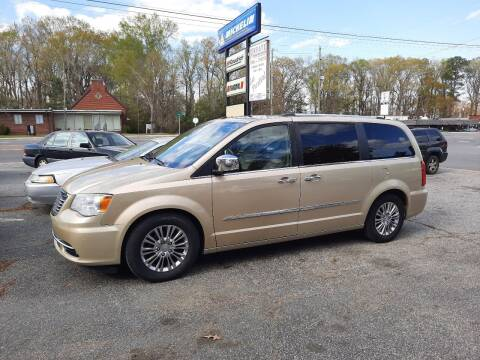 2011 Chrysler Town and Country for sale at PIRATE AUTO SALES in Greenville NC