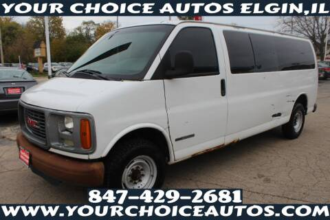 2002 GMC Savana Passenger for sale at Your Choice Autos - Elgin in Elgin IL
