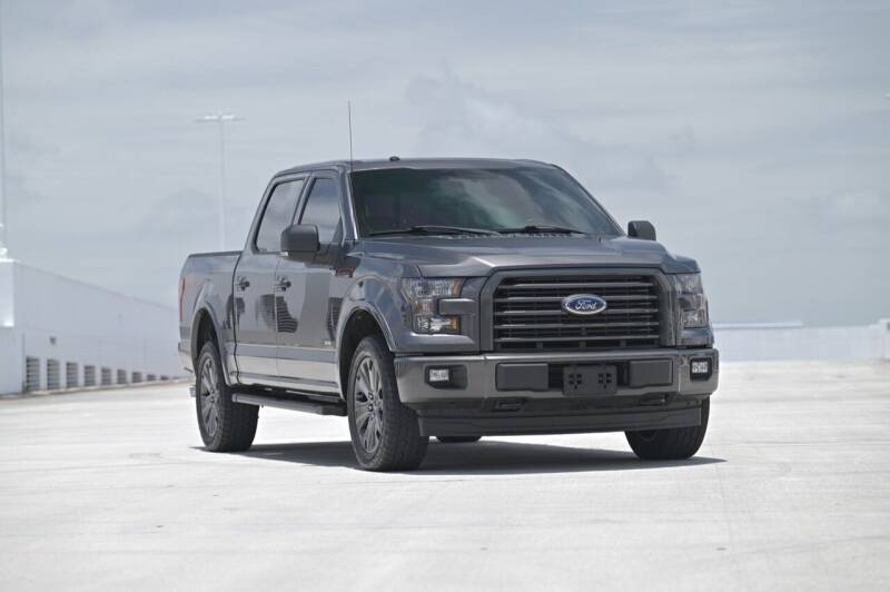 2017 Ford F-150 for sale at EURO STABLE in Miami FL