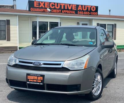 2008 Ford Focus for sale at Executive Auto in Winchester VA