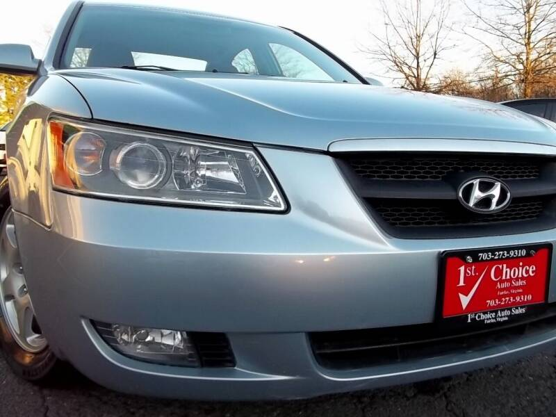 2006 Hyundai Sonata for sale at 1st Choice Auto Sales in Fairfax VA