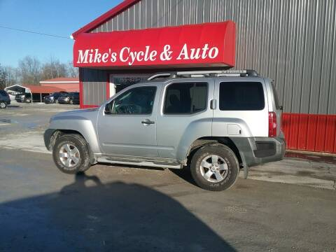 2010 Nissan Xterra for sale at MIKE'S CYCLE & AUTO in Connersville IN