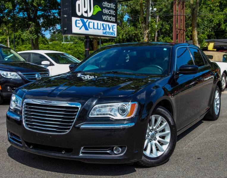 2014 Chrysler 300 for sale at EXCLUSIVE MOTORS in Virginia Beach VA