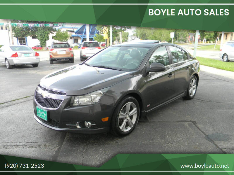 2014 Chevrolet Cruze for sale at Boyle Auto Sales in Appleton WI
