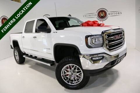 2018 GMC Sierra 1500 for sale at Unlimited Motors in Fishers IN